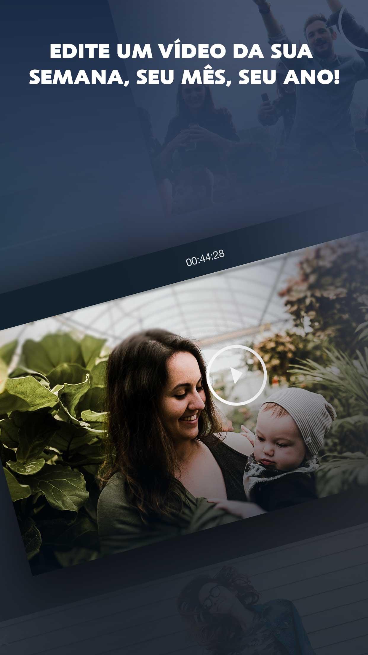 Screenshot do app 1 Second Everyday:Vídeo diário