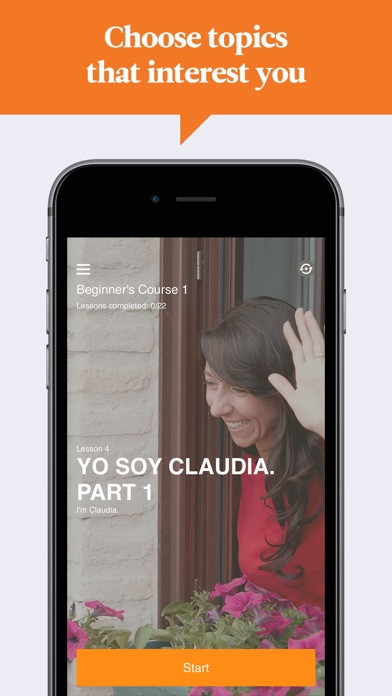 Babbel Learn Spanish review screenshots