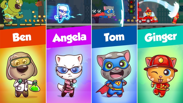 Talking Tom Candy Run screenshot-3