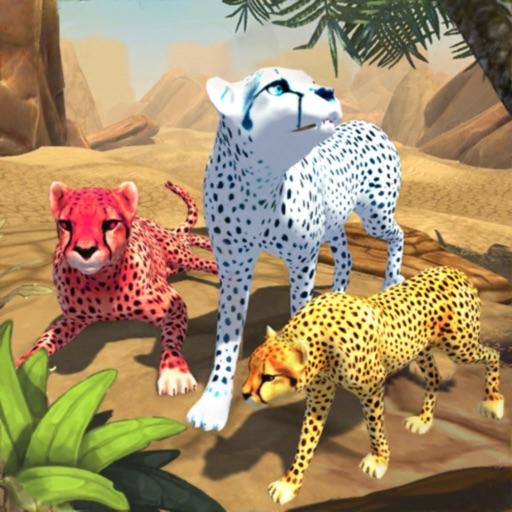 Cимулятор Семьи Гепарда - Дикий Африканский Кот