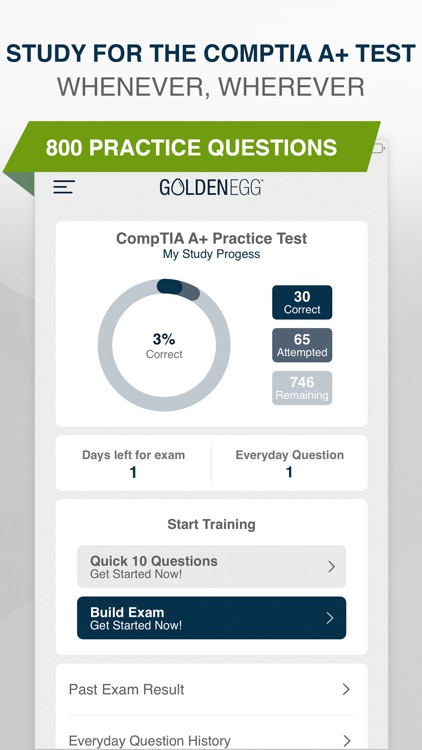 CompTIA A+ Practice Test Pro screenshot-0