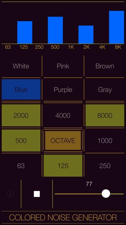 Colored Noise Generator screenshot-9