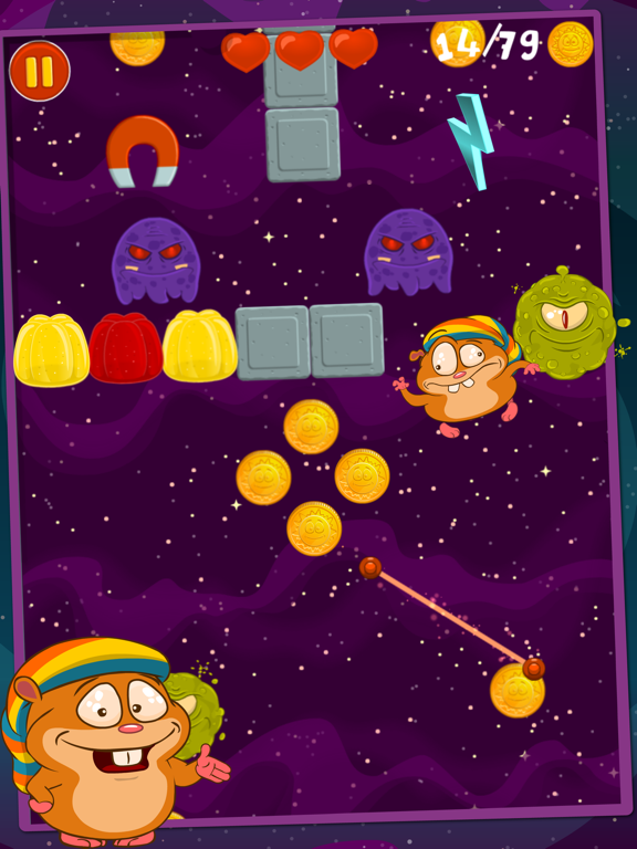 Радужный Хомяк Для Детишек для iPad