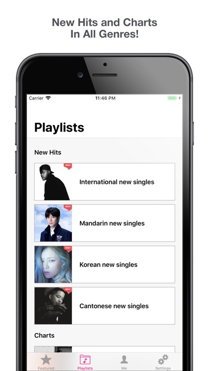 KUBE Playlists screenshot-1