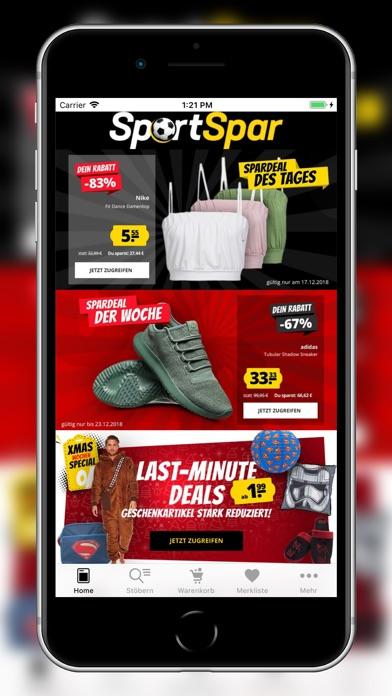 Screenshot for SportSpar in Germany App Store