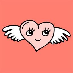 Believe in Love emoji stickers