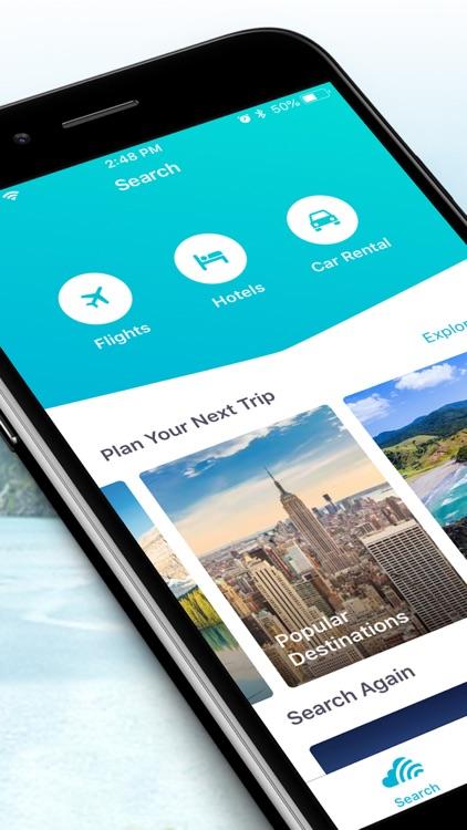 Skyscanner - Travel Deals screenshot-0