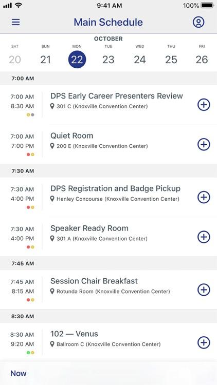 Meetings by AAS screenshot-3