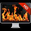 壁炉 HD+: 浪漫屏保
