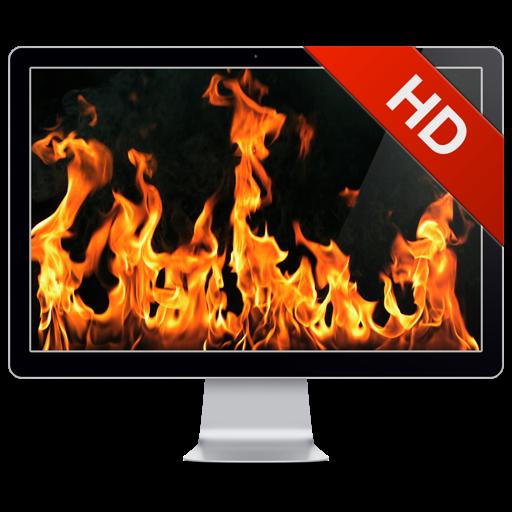 Fireplace Live HD+: Romantic screensaver