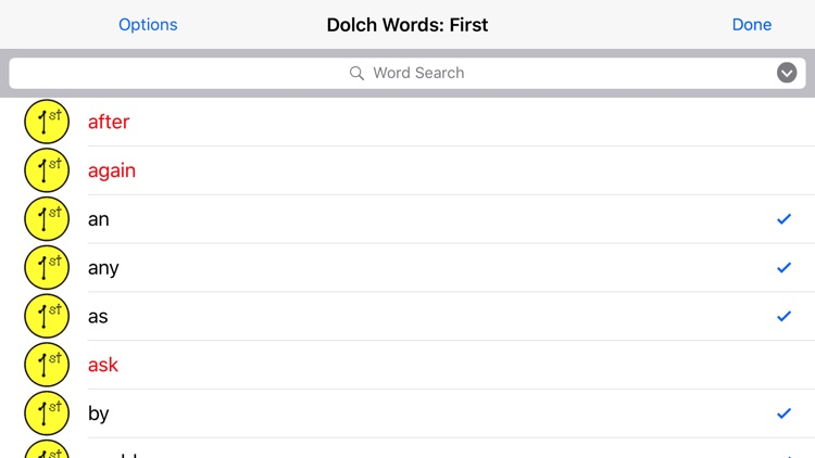 Sight Words - Dolch screenshot-3