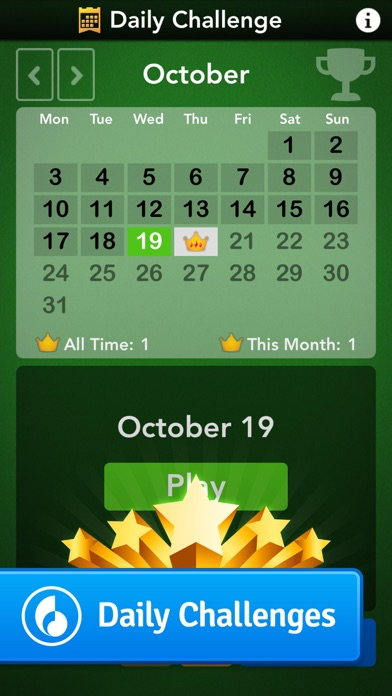 Solitaire by MobilityWare screenshot three
