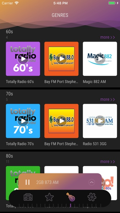 Screenshot for Australia Radio - Live FM Play in Colombia App Store
