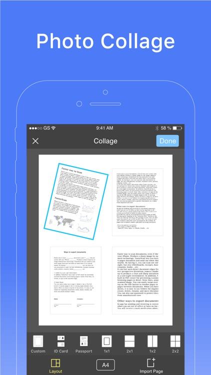 Faster Scan - PDF Doc Scanner screenshot-4