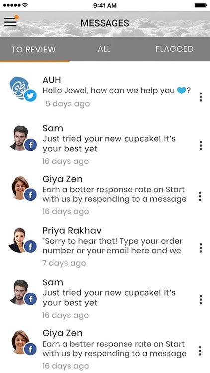 Streambubble Social Media Tool