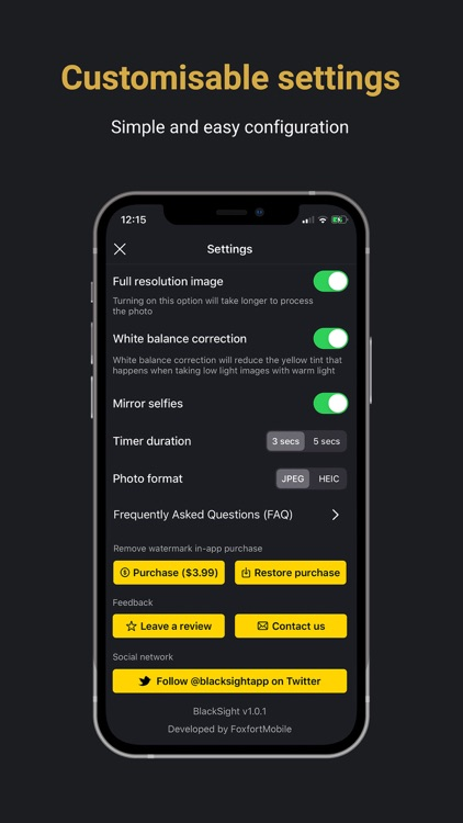 BlackSight: Night mode camera screenshot-8
