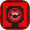 App Icon for Red Squares App in Venezuela IOS App Store