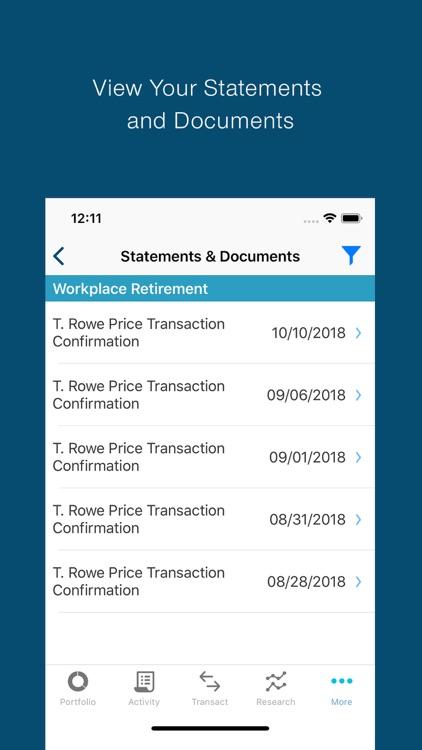 T. Rowe Price Personal® screenshot-4
