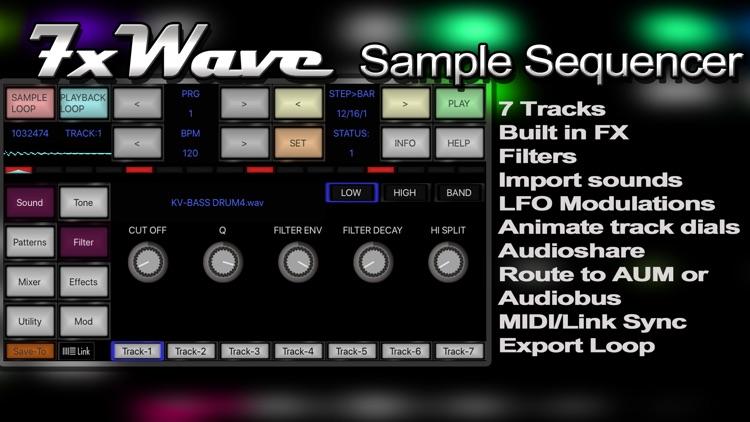 7XWAVE Sample Sequencer