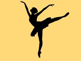 Dance Silhouette Stickers