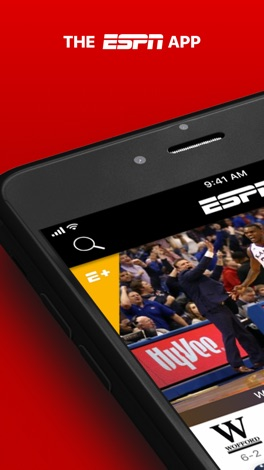 ESPN: Live Sports & Scores screenshot for iPhone