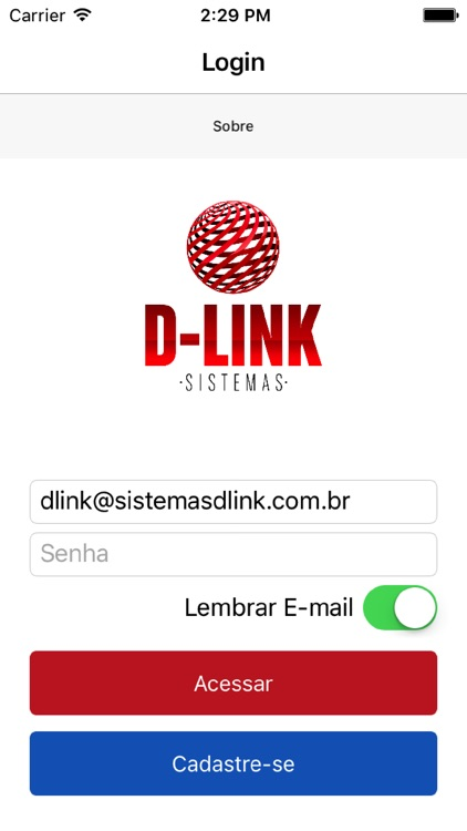 Dlink Sistemas screenshot-0