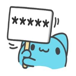 藍獸訊息貼紙
