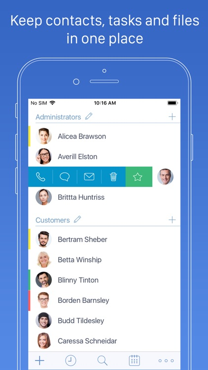 Top Contacts - Contact Manager screenshot-0