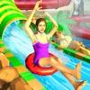 アクア パーク 水 滑り台 ゲーム