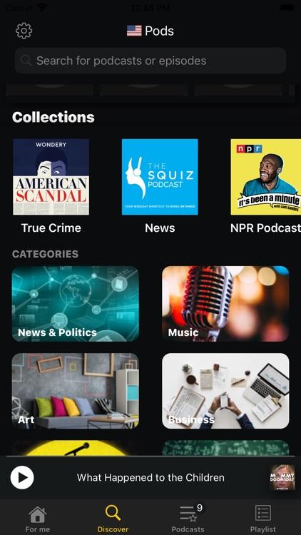 Pods- Podcast Player screenshot-7