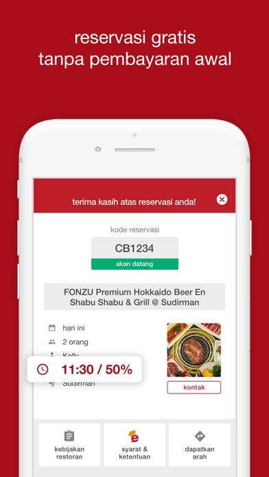 Screenshot for eatigo in Indonesia App Store