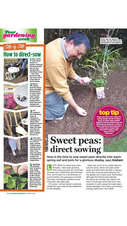Amateur Gardening Magazine screenshot-1