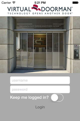Virtual Doorman - náhled