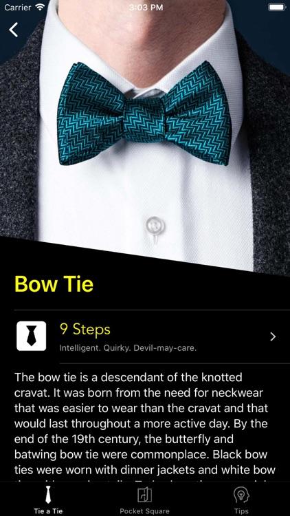 How To Tie a Tie • screenshot-4