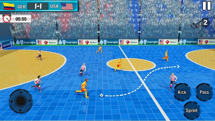 Indoor Soccer Futsal 2021 screenshot-4