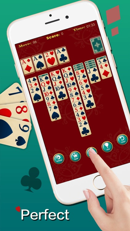 Solitaire ◆ screenshot-1