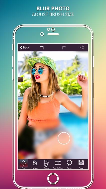 Photo Blur Effect - Hide Face screenshot-3