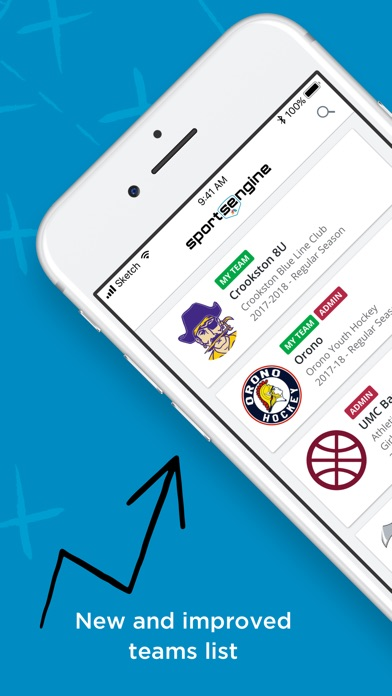 Screenshot for SportsEngine Team Management in United States App Store
