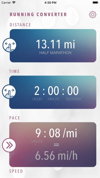 Easy Running Converter screenshot #1