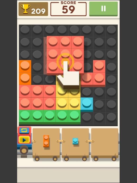 Block Train: Puzzle screenshot #1