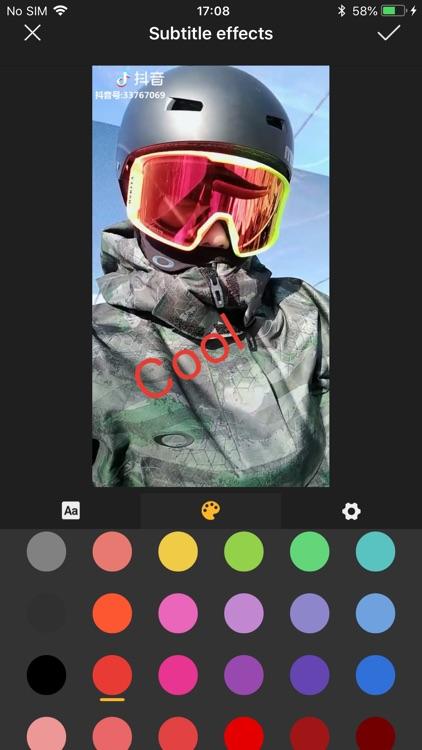 VideoKing-Video Editor & Maker screenshot-3