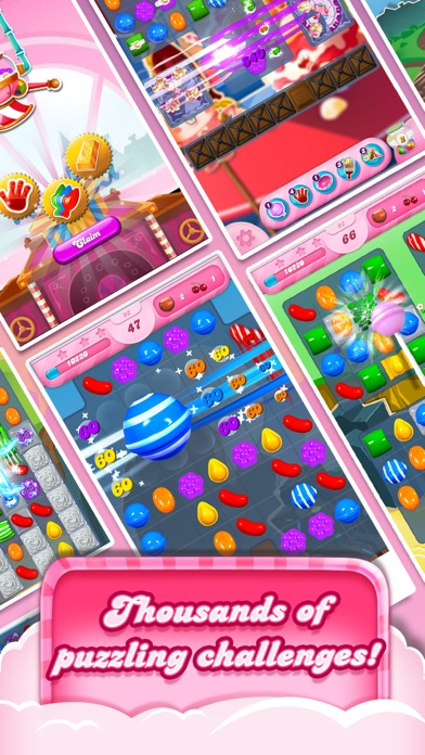 Candy Crush Saga screenshot two