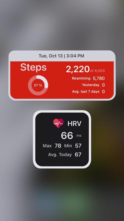 Health Widget - Quick Look Up screenshot-3