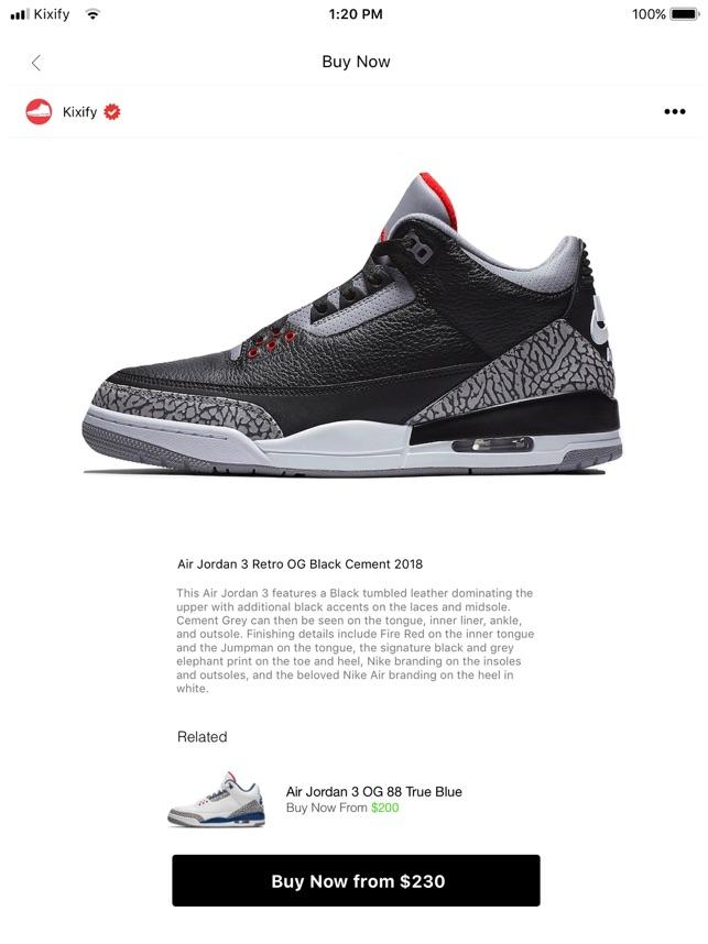 KIXIFY - Buy \u0026 Sell Sneakers on the App