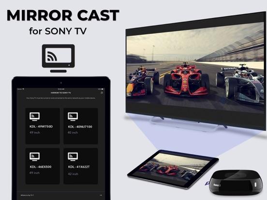 Mirror for Sony TV Pro Cast Screenshots