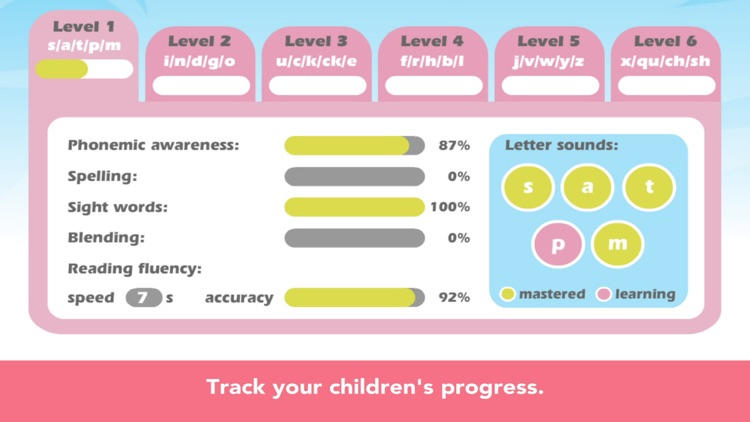 Sight Words & Phonics Reading screenshot-8