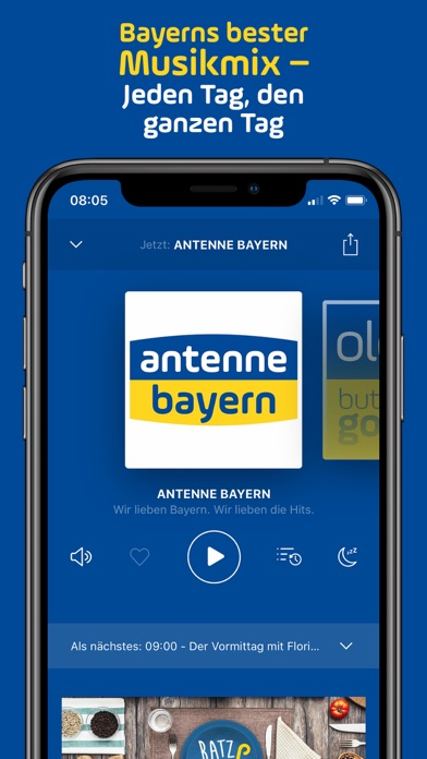 ANTENNE BAYERN screenshot three