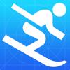 Infinite Loop Development Ltd - スキー場マップ アートワーク