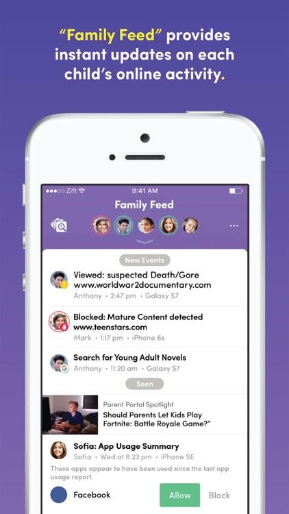 Zift with Net Nanny® Filter screenshot-0