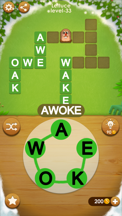 Word Farm Cross screenshot 2